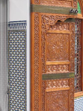 Palais Amani: Courtyard Door