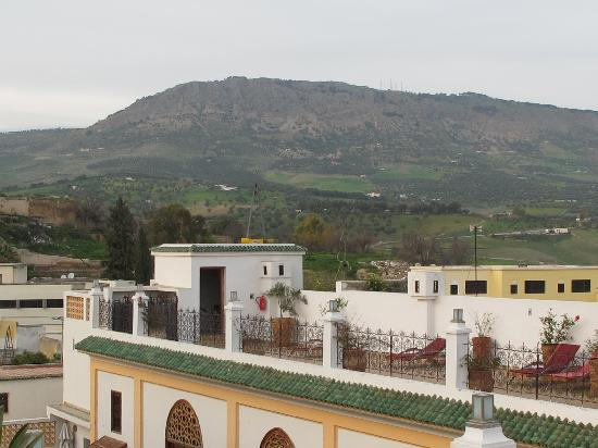 Palais Amani: View from Terrace