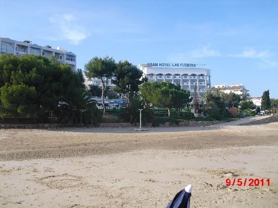 Gran Hotel Las Fuentes: Al ladito de la playa