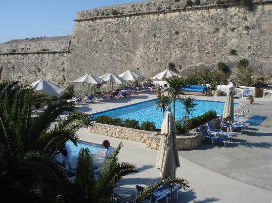 The Phoenicia Malta: View of the pool