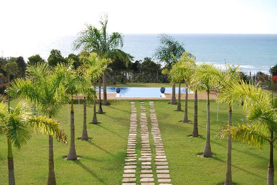 Casa Grande Sao Vicente: Panorama das 6 da manhã