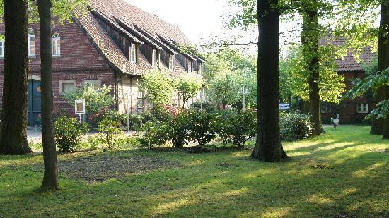 Hotel Eichenhof: fijne tuin