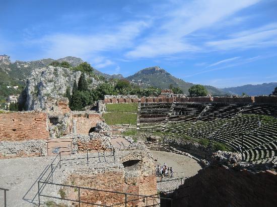 Ταορμίνα, Ιταλία: ギリシア劇場