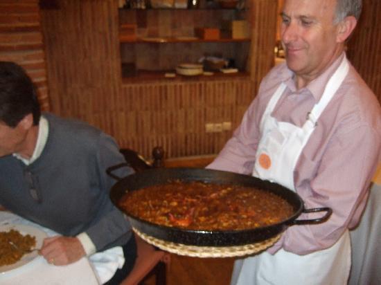 Nou Manolin: la paella di mariscos