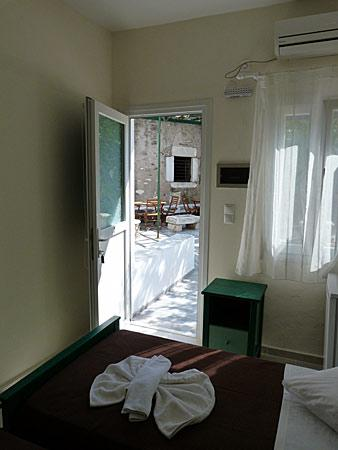 "Captain Manolis Hotel: My room with view to the ""secret garden"""