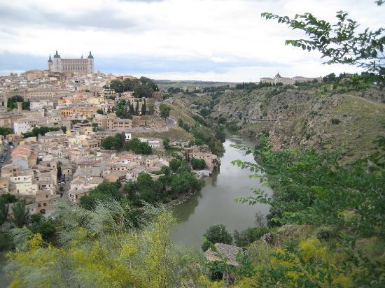 Vista panorámica de Toledo desde el Parador