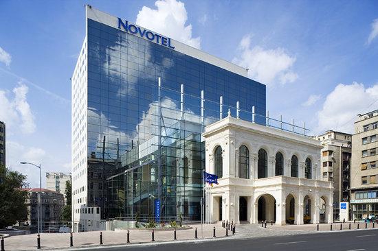 Novotel Bucarest City Centre: Facade