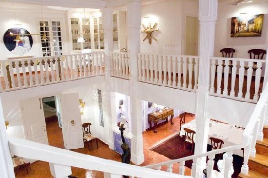 Casa Grande Sao Vicente: Salle de billard et bibliothèque