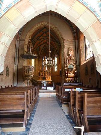 Pfarrkirche Mariasdorf : Der Innenraum
