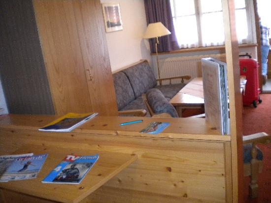 Hotel Helmerhof: comedor sala de estar