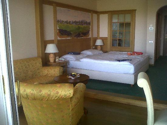 Hotel Adler Thermae Spa & Relax Resort: spaziosa, pulita e silenziosa