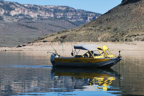 Lots of kokes picture of blue mesa fishing gunnison for Blue mesa reservoir fishing