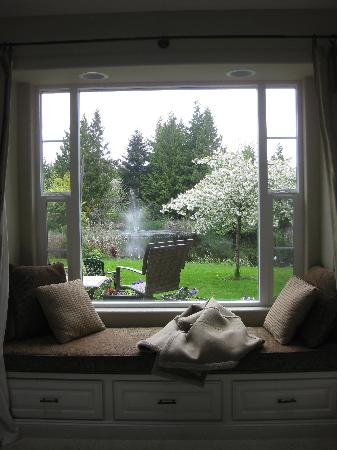 Lost Mountain Lodge: wonderful window seat