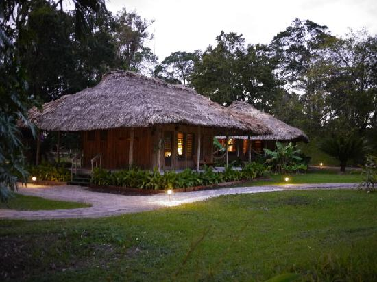 Chan Chich Lodge : Chan Chich bungalows