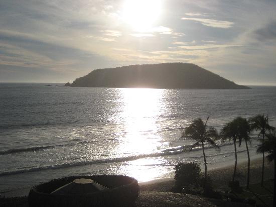 El Cid Castilla Beach Hotel: View of the sunset