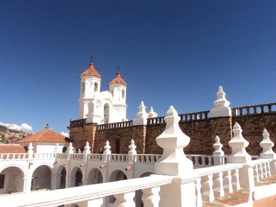 Sucre, Bolivia: San Felipe de Neri roof