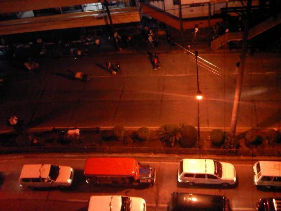 Hotel Veniz: view from the veranda