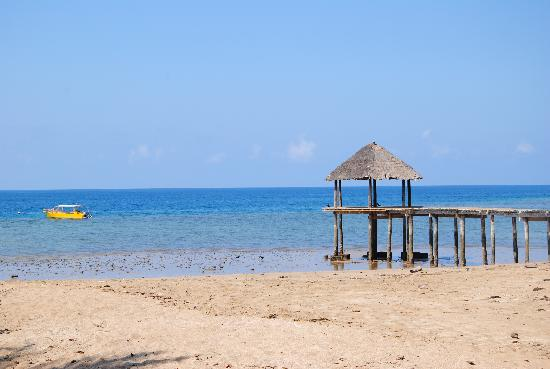 Mayotte : La plage de N'Gouja au Jardin Maoré