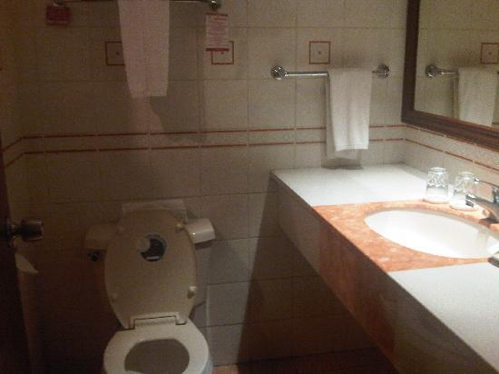 Hotel Veniz: restroom was clean and with complete necessities