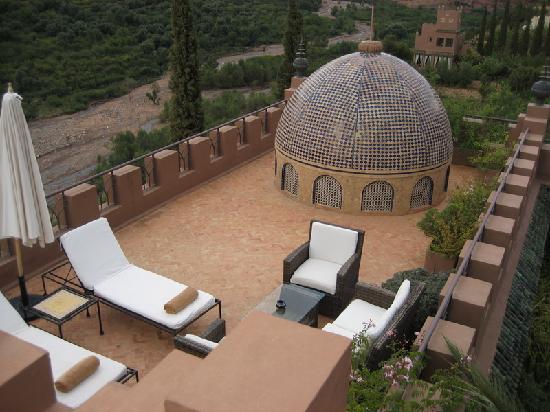 Kasbah Tamadot: suite 32 private terrace
