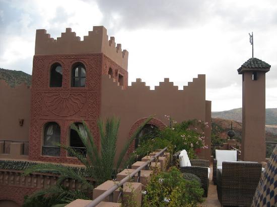 Kasbah Tamadot: suite 32 from terrace