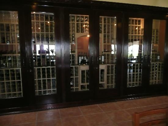Hotel Coral & Marina: The Wine cabinet at Hacienda Guadalupe