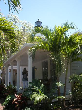 Lighthouse Court Hotel in Key West: Room with a view