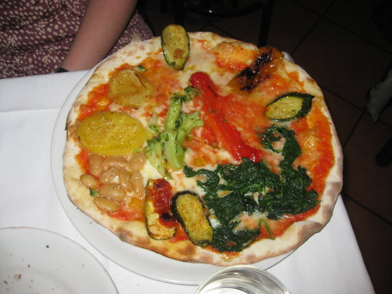 Due Colonne: Veggie pizza