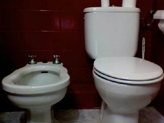 Hotel Los Globos: Baño