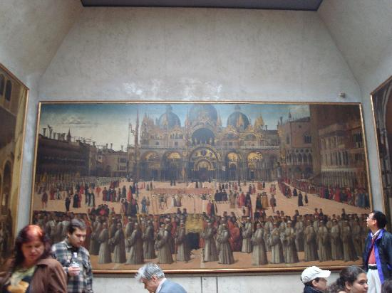 Gallerie dell'Accademia : Large Painting of Venetian Sites