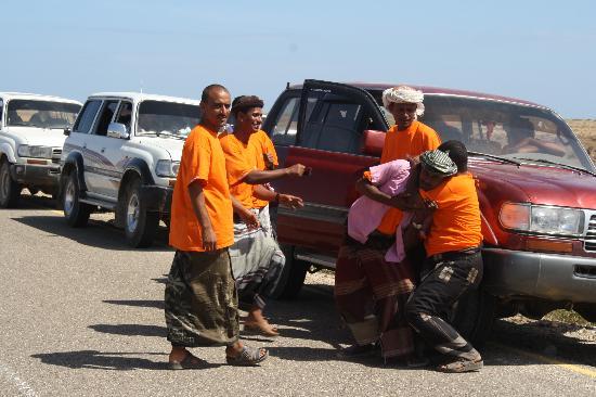 Socotra Island, Yemen: I meravigliosi drivers..