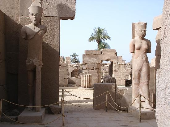 Egito: Temple de Karnac