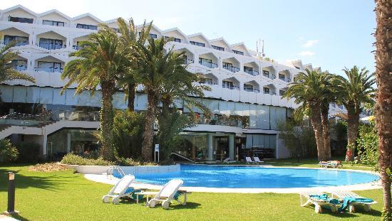 SENTIDO Phenicia: back of hotel
