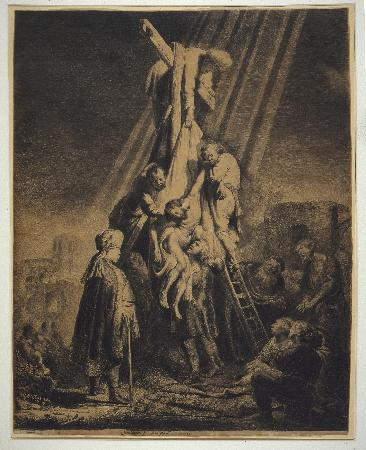 Mooney Art Collection: Rembrant made this etching in 1633.