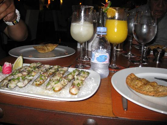 Puerto Madero Cancun : Delicious and Fresh Razor Clams
