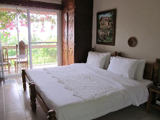 Amarela Resort : Master's bedroom. Kids room was adjoining room