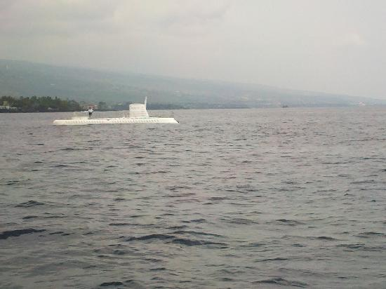 Atlantis Submarines Kona: from ferry
