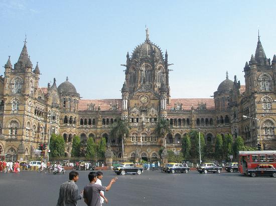 """Mumbai (Bombay), India: Вокзал """"Виктория"""""""