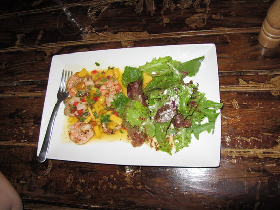La Casita Tapas & Wine Bar : Mango Shrimp