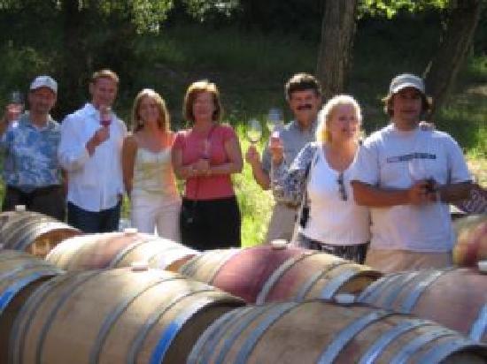 Breakaway Tours & Event Planning: Barrel Tasting options