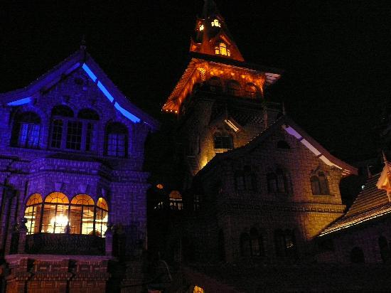Hengshan Moller Villa Hotel: nighttime exterior of Moller Villa