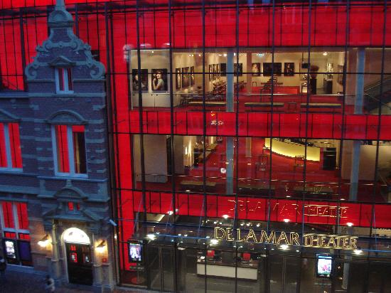 Hotel La Boheme: Vistas desde la ventana de la habitación