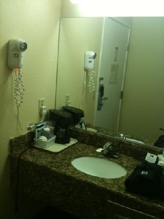 Lexington Inn - Holbrook: Lavabo