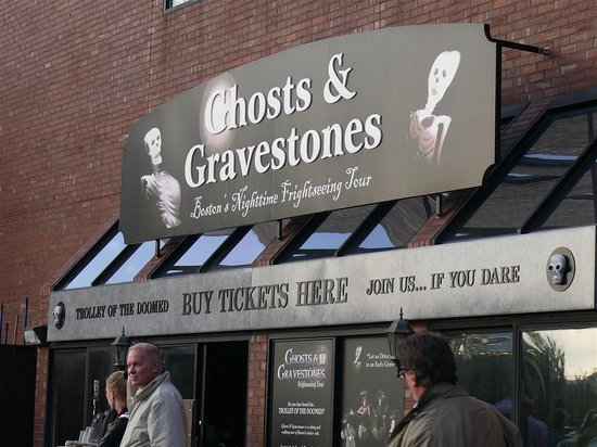Ghosts & Gravestones : You can't miss it