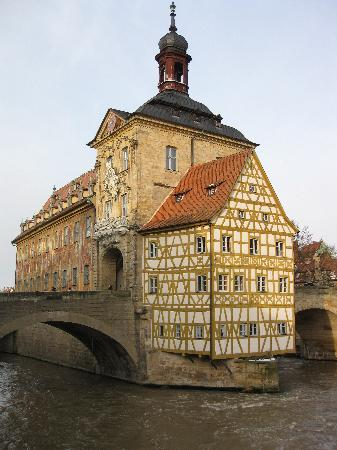 Altes Rathaus (former City Hall); built in 1386, Bamberg
