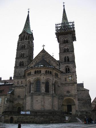 Bamberg Cathedral, finished in 1237