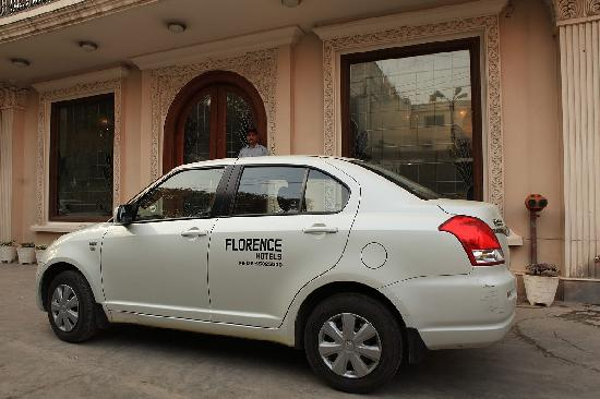 The Florence Inn: In house Cab Service on Request