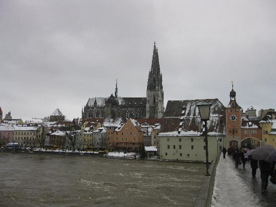 Regensburg is a UNESCO World Heritage Site