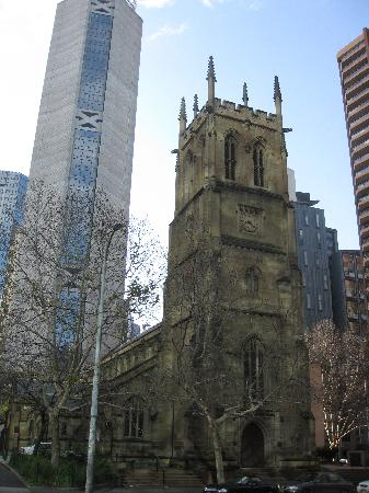 Sídney, Australia: St. Philip's Anglican Church, York Street; ca. 1856, Sydney