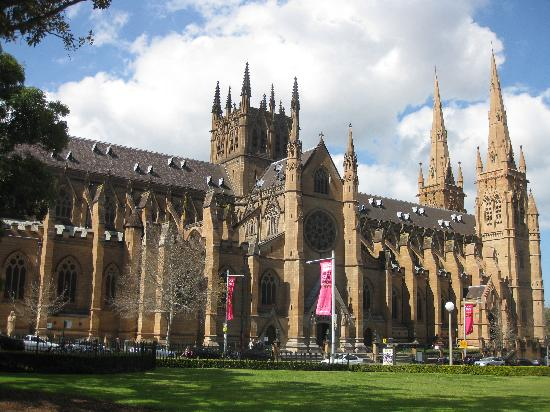 St. Mary's Cathedral, Hyde Park; ca. 1868-1900, Sydney